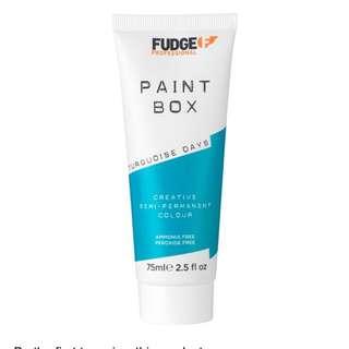 Paint box turquoise days