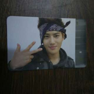 WTS/WTT | SUHO ✩ EXO Growl Official Photocard Ver. B (China Press)