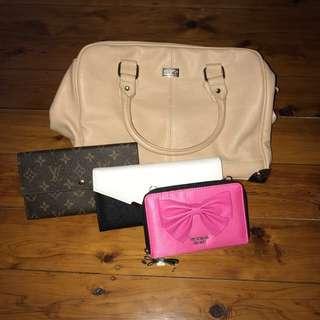 Colette bag and wallets