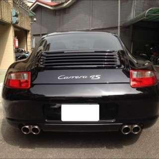 保時捷 Porsche C4S原廠中古(後尾燈.後保桿)