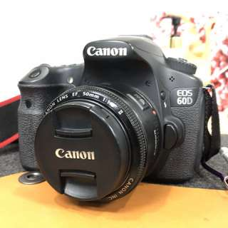 Canon 60D with 18-135mm Kit lens