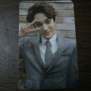 WTS/WTT | KAI ✩ EXO Growl Official Photocard Ver. A (China Press)