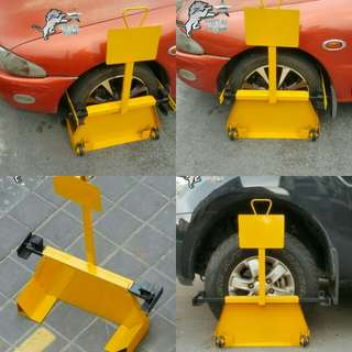 Vehicle Wheel Clamp