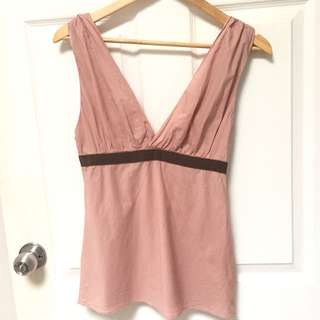 Camilla & Marc M/Size 10 Dusty Rose Top