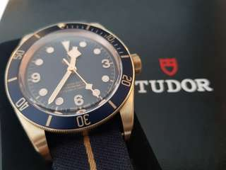 BNIB Tudor Bronze Blue Bucherer Limited Edt