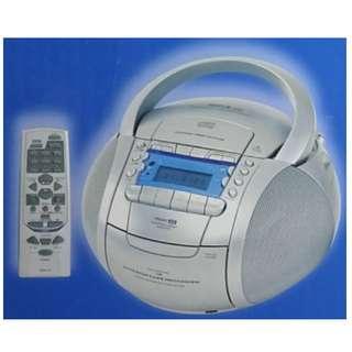 錄音帶及AM/FM 收音機