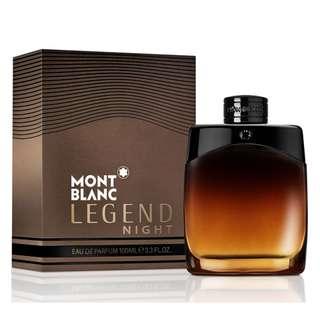 MONT BLANC LEGEND NIGHT EDP FOR MEN (100ml) MontBlanc Eau de Parfum