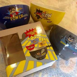 SuperHero Bowls from S-26
