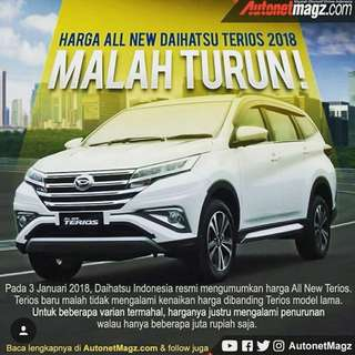 New Terios 2018