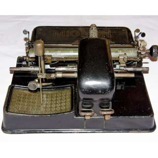 VINTAGE ANTIQUE MIGNON AEG MODEL 3 1918 INDEXWRITER