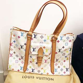 [Brand New] 全新LV Louis Vuitton Monogram Multicolor WHITE