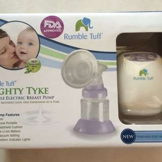 Rumble Tuff Mighty Tyke Portable Electric Breast Pump