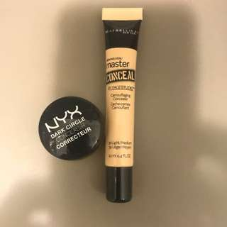 Maybelline & Nyx Concealer