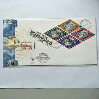 Registered FDC - 1996 WTO Ministerial Conference