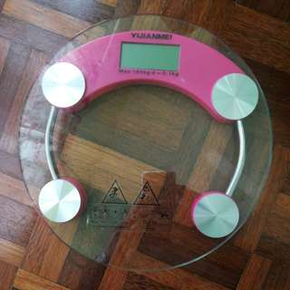 Tempered Glass Digital Weighing Scale