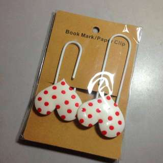 Heart paperclip/bookmarks