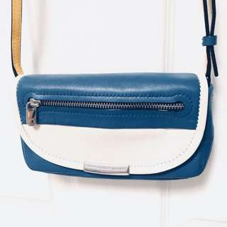 Marc by Marc Jacobs Leather Colorblock Cross Body Bag