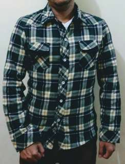 Long Sleeves Chequered