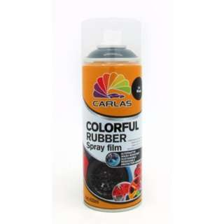 Carlas Colorful Rubber Spray Film 400ml (C4 Black)