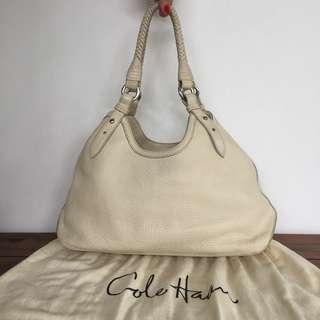 Cole Haan bag cream