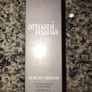 BNIB Giorgio Armani Armani Mania For Him Eau de Toilette 100ml