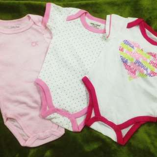🆓postage baby rompers (new)