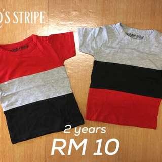 Tshirt stripe kids