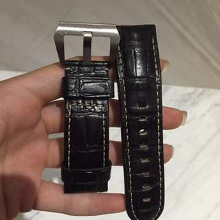 Panerai Crocodile Leather Strap