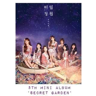OH MY GIRL 5th Mini Album 'SECRET GARDEN'