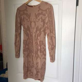 Ivy revel knitted body on dress