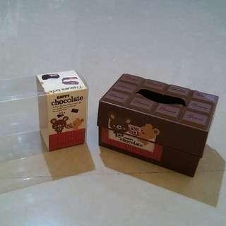 "Tissue Box ""Chocolate"""