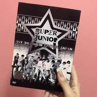 Super Junior 1st premium live in Japan