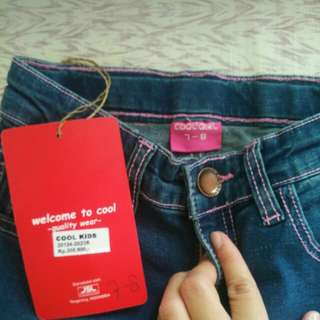 Jeans cool girl size 7-8