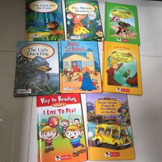 Preloved Ladybird and Robin books