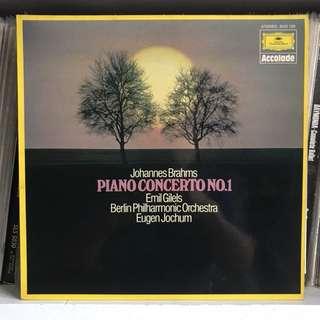 Brahms Piano Concertos 1 & 2 Emil Gilels 2-LP set