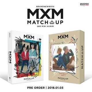 (PO) MXM (BRANDNEW BOYS) 2ND MINI ALBUM - MATCH UP