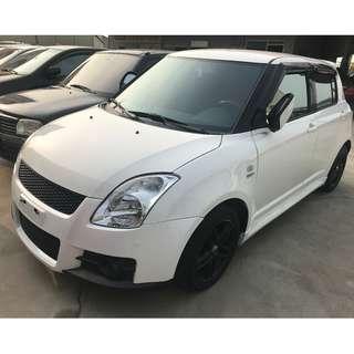 2008年 Suzuki 鈴木 Swift 思維夫 1.5 白   -  18.8萬