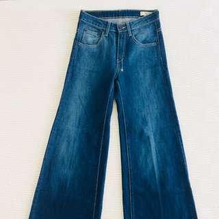 70's Flared Denim Jeans, 18th Amendment:Colbert
