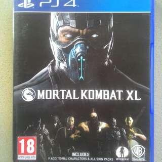 Best seller kaset bd ps4 game original mortal kombat xl bekas