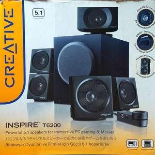 Creative T6200 5.1 speaker