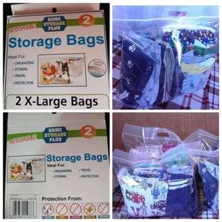 Ziplock Storage Bags (XL)