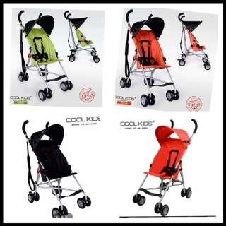 正品cool kids嬰兒推車 單人超輕便2.85公斤出國必備