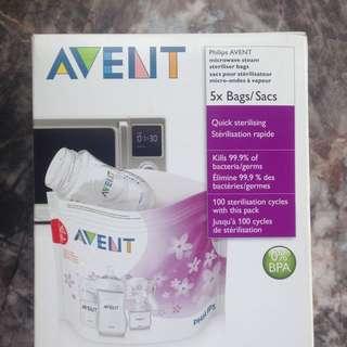 Microwave Steam Steriliser Bag #Bajet20