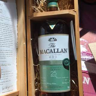 Macallan 25yrs fine oak