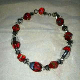 Red Stone Bracelet (Gelang)