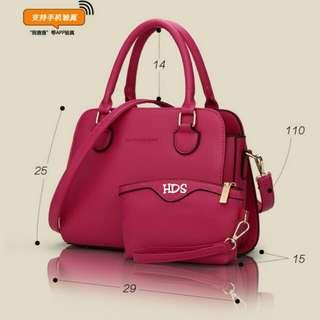 Handbag fashion polos 2in1