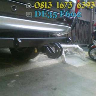 Towing Pajero Sport Model Custom Offroad