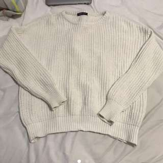 new American apparel knitted sweater