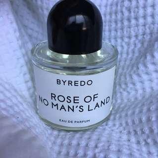 Byredo rose of no mans land perfume