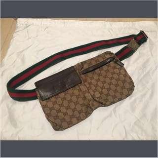 GUCCI fanny pack waist/ hip bag 腰包